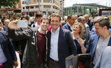 Pablo Casado cierra campaña electoral en Palencia