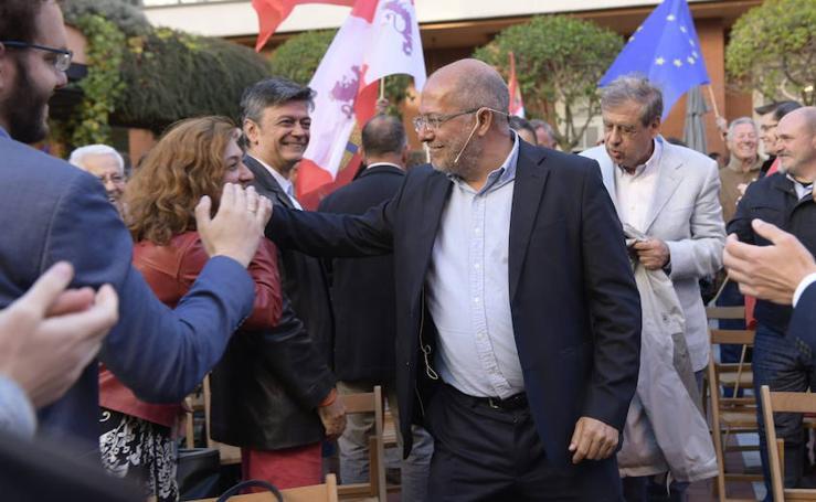 Francisco Igea cierra la campaña de Ciudadanos en Valladolid