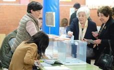 Todas las fotos de la jornada electoral en Valladolid