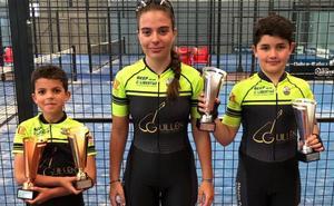 Triple podio para la Escuela Bejarana de Ciclismo en Ávila