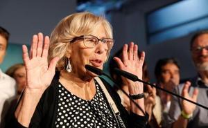 Carmena dimitirá tras perder la Alcaldía de Madrid y ERC gana a Colau en Barcelona