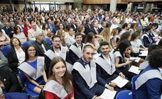 Graduación de los alumnos de Publicidad del campus de la UVA en Segovia