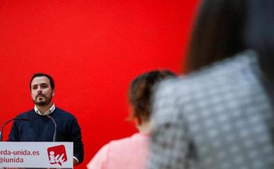 IU abre la puerta a un Gobierno monocolor del PSOE