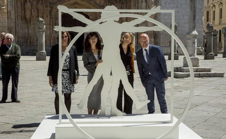 La plaza de San Pablo de Valladolid acoge una exposición sobre Leonardo Da Vinci