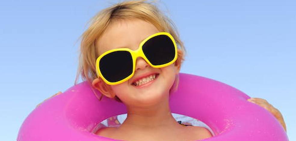 Las gafas de sol, necesarias desde el primer año de vida