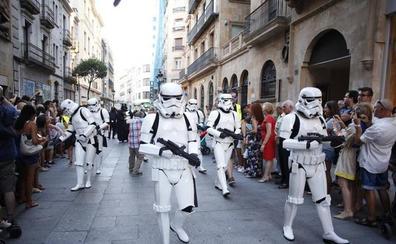 Salamanca será escenario de los vídeos promocionales de la marcha de la Legión 501