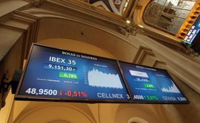El Ibex-35 gana un 0,85% con sólo siete compañías en rojo