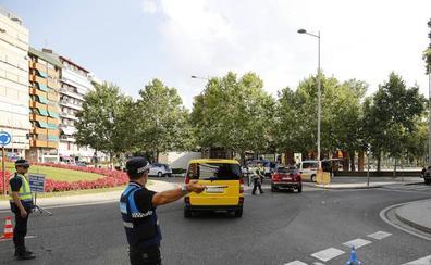 16 denuncias en Palencia en los controles para reducir la siniestralidad y los atropellos