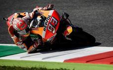 Márquez juega con las Ducati y pulveriza el récord de Mugello
