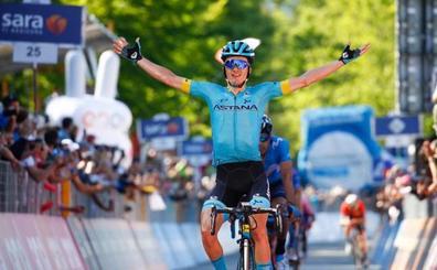 Segundo triunfo de Pello Bilbao en el Giro