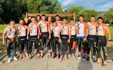 El Triatlón Salamanca, campeón regional de media distancia