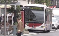 Dos menores asaltan un bus urbano en León y se hacen con la recaudación mientras la conductora había acudido al baño