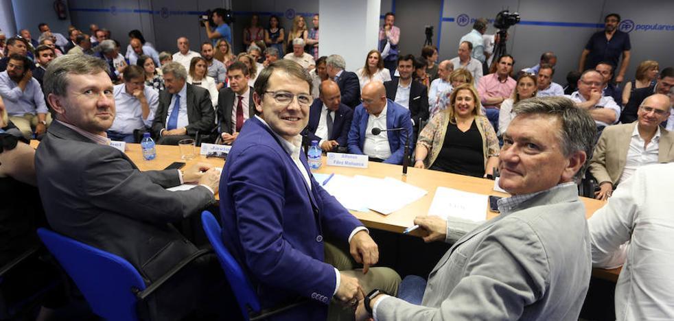 Mañueco ofrece a Ciudadanos «diálogo para gobernar»