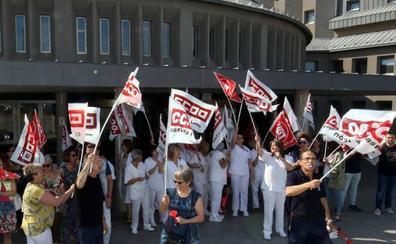 El personal de limpieza del Hospital General de Segovia amenaza con la huelga