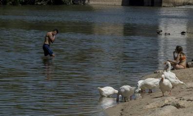 Un desplome de temperaturas acaba con el avance del verano en Valladolid
