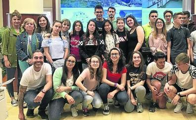 Alumnos del Marqués de Lozoya ayudan a 'salvar' la Cuenca del Duero