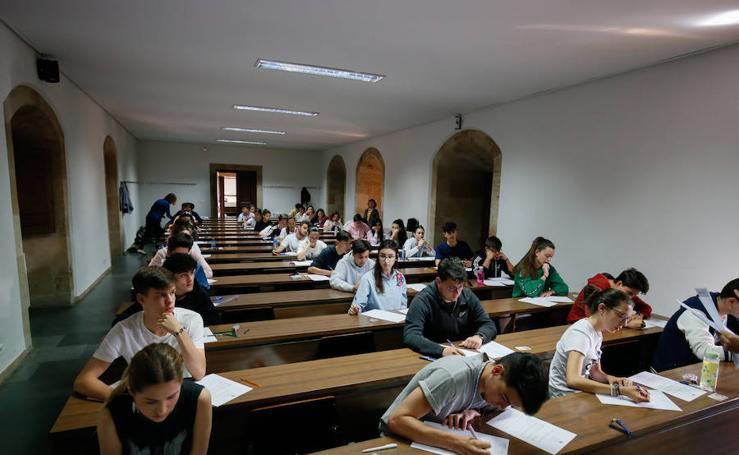 Pruebas de la EBAU en Salamanca