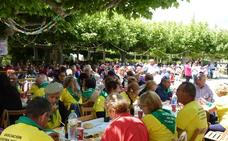 Colectivos de 21 pueblos ensalzan en Tudela el papel de los mayores en el medio rural