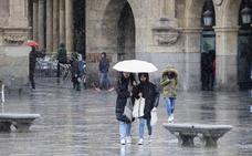 Alerta amarilla por lluvias y rachas de viento en Salamanca por el paso de 'Miguel'