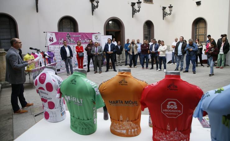 Presentación de la Vuelta Ciclista a Salamanca élite y sub-23