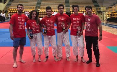 Cuatro podios para el Doryoku en la Copa de España Trofeo Alejandro Blanco sénior en Salamanca