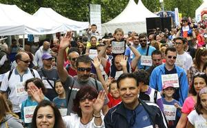 Aún puedes inscribirte en la VII Familia en Marcha Caixabank de hoy domingo en Valladolid
