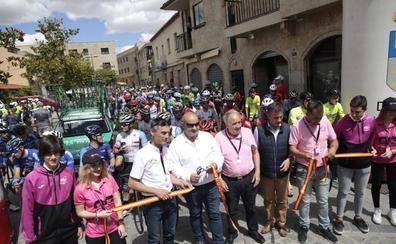Eloy Teruel, primer líder de la Vuelta Ciclista a Salamanca