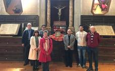 La Cofradía del Silencio de Ciudad Rodrigo procesionará con la reliquia de la Cruz de Cristo