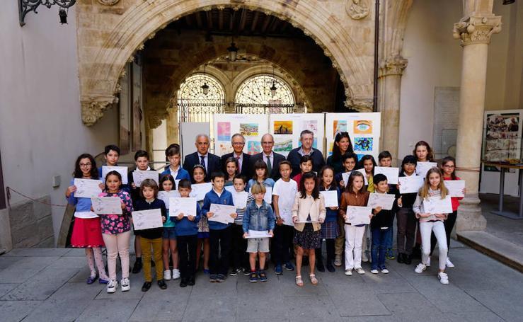 Entrega de premios la XVII edición del Concurso de Dibujo y Deporte Escolar 'Venancio Blanco'