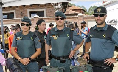 La Guardia Civil destinará 14 agentes a la nueva unidad de Seguridad Ciudadana de Palencia