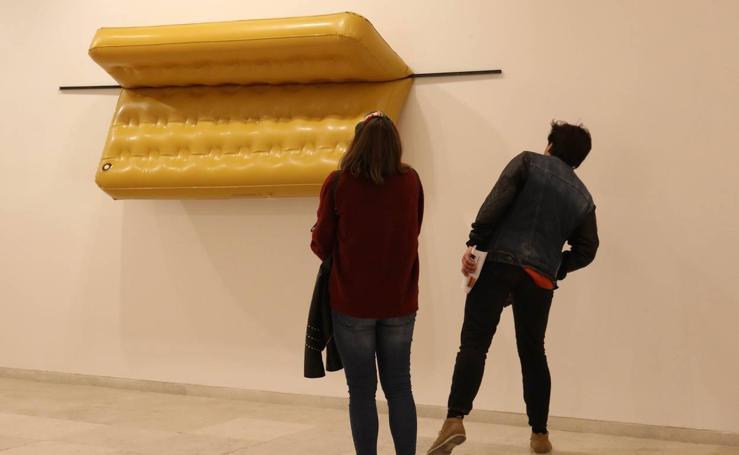 Exposición 'Una dimensión ulterior. Aproximaciones a la escultura contemporánea en España' en el Museo Patio Herreriano de Valladolid