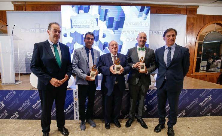 Entrega de premios de la Confederación de Organizaciones de Empresarios Salmantinos