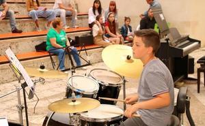 La Escuela de Música de Baltanás cierra el curso con el mejor ritmo