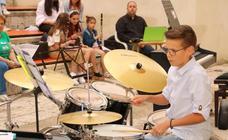 Audición de fin de curso en la Escuela de Música de Baltanás