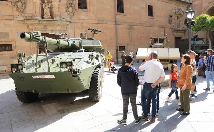 Día de las Fuerzas Armadas en Salamanca
