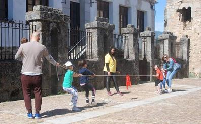 Éxito de la jornada de promoción de los juegos tradicionales en Miranda del Castañar