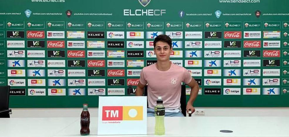 Jorge Sánchez, juvenil de la Segoviana, ficha por el Elche
