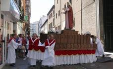 Procesión de la Virgen de la Alegría en Valladolid