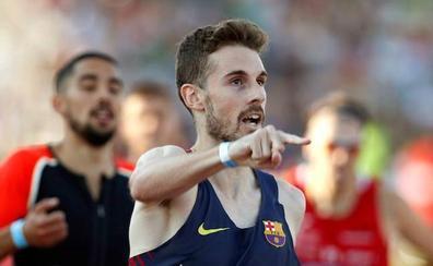 Álvaro de Arriba finaliza tercero en la reunión holandesa de Hengelo con 1:46.13