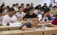 Las notas de corte de las Universidades públicas en Castilla y León