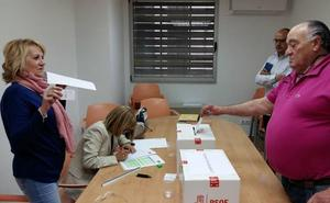 Seis diputados socialistas repetirán en La Salina la próxima legislatura