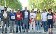Salida de la VII Día de la Familia en Marcha de CaixaBank (1/5)