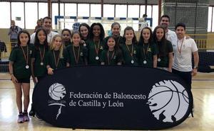 Bronce para las salmantinas en el Campeonato de Selecciones PRD de Castilla y León de baloncesto