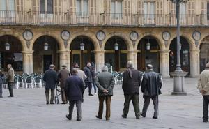 Cerca de 80.300 salmantinos son pensionistas, más del 63% jubilados