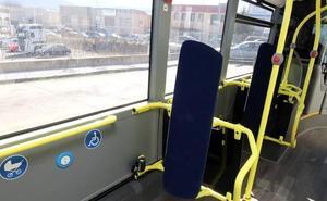 Heridos dos pasajeros de un autobús urbano en Segovia al caerse por un frenazo