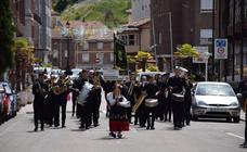 Festival de bandas de música en Guardo