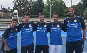 El equipo júnior del Tenis Alba de Tormes se mete en la final del Campeonato Autonómico