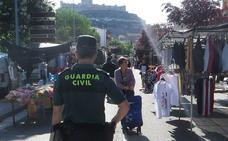 Desmantelan en Peñafiel un grupo que vendía en mercadillos la ropa robada de dos camiones en Madrid