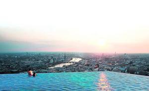 El cielo mojado de Londres