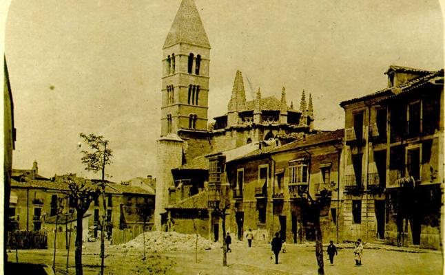 Estampas del Valladolid antiguo (VI): la iglesia de La Antigua